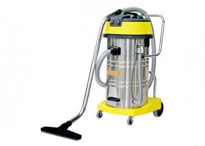 China 80L Wet And Dry Vacuum Cleaner / Room Service Equipments With Stainless Steel Tank on sale