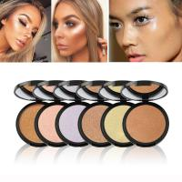 Private Label Single Highlighter Makeup Dark Skin Highlighter Bronzer Contour