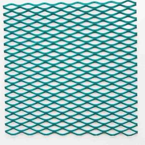 China Powder Coated Aluminum Wire Mesh , Anti Acid Expanded Metal Aluminium Mesh on sale
