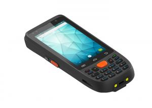 China PDA Barcode Scanner Rugged Handheld Pda 4.0 Inch With Keyboard BH85 on sale