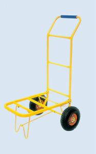 China Baggage Steel Hand Truck Trolley , Two wheels Trolley For Warehouse on sale