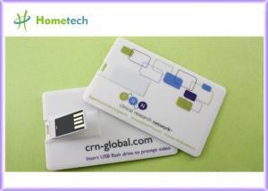 China Favorite Gift 1GB Mini Credit Card USB Storage Device & Company Logo Flash Drive USB on sale