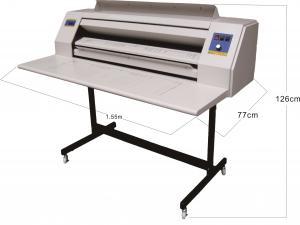 China Manual Separation Non Ammonia Blueprint Machine DB-2000H Blueprint Printing Machine on sale