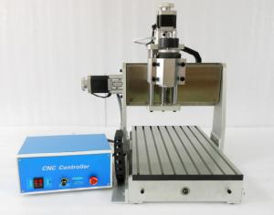 China 3 Axis Air Coolling CNC 3020 Router Z Axis 90mm / 4th Axis CNC Router on sale