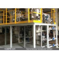 High Precision Automatic Back Flushing Candle Filter for absolute ethyl alcohol