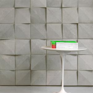 China Wall Decoration 3D Wall Panels Lightweight Concrete Wall Panels on sale