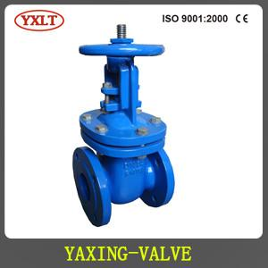 China DIN CAST IRON RISING STEM GATE VALVE,METAL SEATED,F4 PN16 on sale