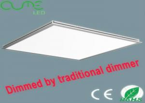 China 18W - 72W Dimmable LED Panel Light High Lumen Library Lighting 75 - 85 Ra on sale