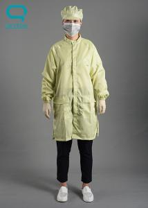 China SGS Certificated ESD Anti Static Workwear Clothing For Production Line on sale