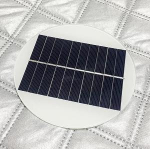 China 1.4W 5V Circle Round Mini Solar Panels,Solar Power Mini Solar Cells DIY Electric Toy Materials Photovoltaic Cells on sale