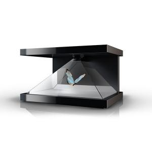 China Magic 3D Hologram Showcase Holographic Pyramid Box Full HD Resolution on sale