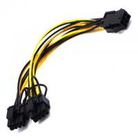 China 20CM Graphics GPU Extension PCIE Electrical Wiring Harness  600V AC on sale