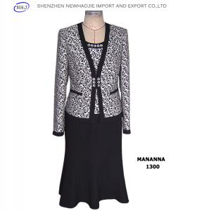 China Rose-patterned suit fabric women's suits on sale