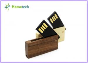 China MINI memory stick pendrive wooden rotatable usb flash drive 4GB 8GB memory card on sale
