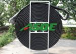 Water Discharge Heavy Duty Lay Flat Hose , Customized Length PU Hose Pipe