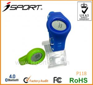 China Bluetooth 4.0 3D Quality Step Counter Branded High Quality Pedometer on sale