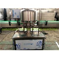Automatic Carbonated Beverage Can Filling Machine 1000-2000CPH Small Business