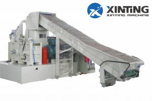 China PP PE Woven Sack Bag Film Plastic Film Recycling Machine Automatic Agglomerator on sale