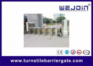 China SST 304 Intelligent Controlled Access Turnstiles Safety Pedestrian Barrier Gate on sale