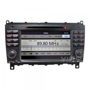 China Car Stereo for Mercedes Benz CLK CLS Sat Nav DVD Player VBZ8812 on sale