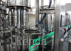 China CO2 Drinks Water Carbonated Drink  Filling Machine With Washing / Filling / Capping on sale