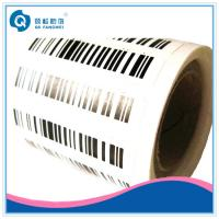 China Serial Number Barcode Label , Adhesive Barcode Stickers Print In sheet Form on sale