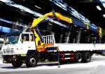 El camión montó la grúa hidráulica 40L/la grúa móvil del knuckleboom del minuto 8TON
