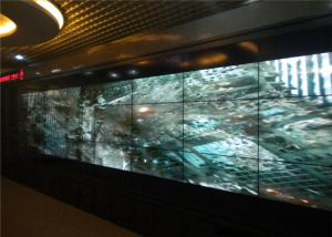China High Definition Indoor LED Video Wall With 5.3mm Seamless Wall Ultra Narrow Bezel on sale