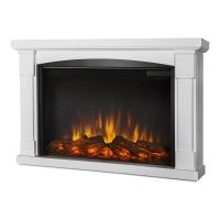 China wall mounted fireplace with mantel LED lights flame effect realistic log fuel insert indoor heater decorating home on sale