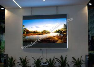 China Multi Function Ultra Thin Led Screen , High Resolution Led Display Remote Control on sale