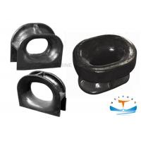 China DIN 81915 Marine Mooring Equipment Black Painted Type C For Deck Mounted on sale