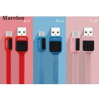 China V8 Micro USB Data Cable , Android Charging Cable Environmental Silicone Wire on sale