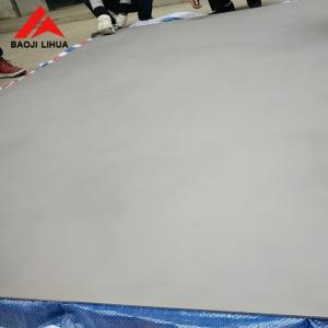 China High Accuracy Titanium Sheet , UNS N56400 Ti Alloy Gr5 Ti6Al6v Titanium Plate on sale