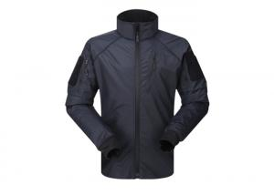 China Outdoor Black Military Tactical Jackets 100% Nylon Military Jacket And army jacket on sale