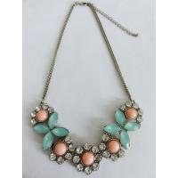 2013fashion zinc-alloy Acrylic stone necklace