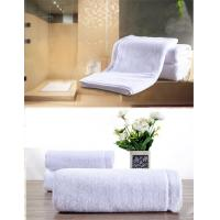 Customized Hotel Style Towels Biodegradable , Bamboo Face Towels Easy Wash