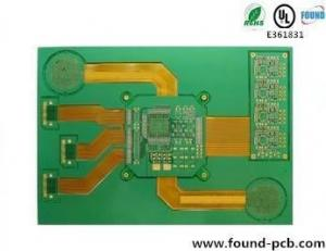 China Prototype Rigid Flex PCB / Rigid Flex Printed Circuit Boards High TG Base on sale