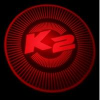 LED 3D Car Logo Laser Lights KIA K2