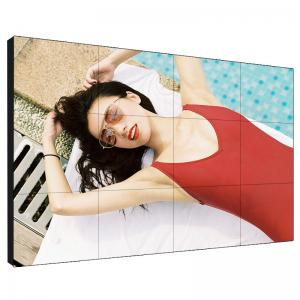China Full Sexy 1080P LCD Video Wall 55 Inch Advertising Splicing Unit 3.5mm Thickness on sale