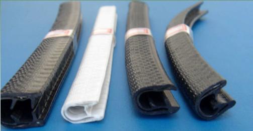 Flexible Pvc U Channel Edge Trim Sealing Strip For Sheet