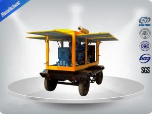 China Moblie Tralier Diesel Generator Set 4 Stroke 50kva ISUZU Diesel Genset 4JB1T-S / 46 on sale