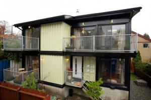 China 20'ft and 40'ft movable and living prefabricated container house on sale