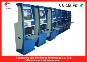 China Touch Screen Self Service Payment Kiosk Freestanding for Bank on sale