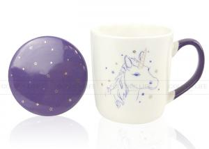 China Unicorns Personalized Coffee Travel Mugs High Temperature Color Glaze on sale