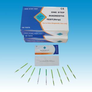 Quality tira de teste rápida médica dos dispositivos diagnósticos VIH for sale