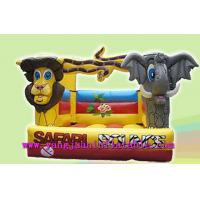Elephant SAFARI Jungle Inflatable Bouncer