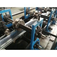 Fast Speed 40 - 50m / min Top Hat Roll Forming Machine Chain Driven System 1.5mm Max