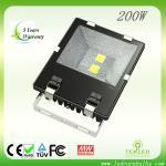 Fin-Style 200W LED flood light   CE & RoHS certified   5 years warranty