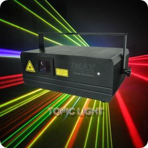 China Small Stage Laser Light DJ Laser Lighting 3W RGB For Events on sale