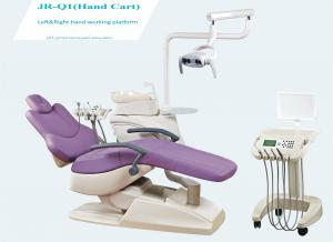 China Dental unit with CE&ISO,dental chair, dental equipment with LED light, movable tray/JR-Q1 on sale
